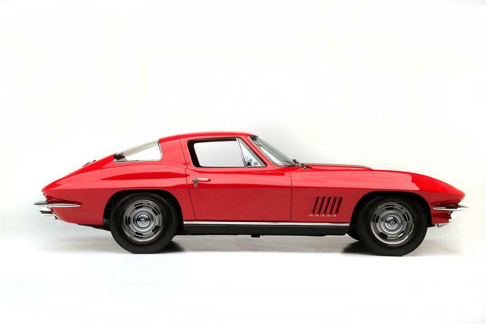 1967 Chevrolet Corvette L88 2 Door Coupe Side Profile 161046