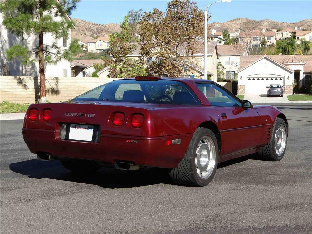 corvette 1993 zr1