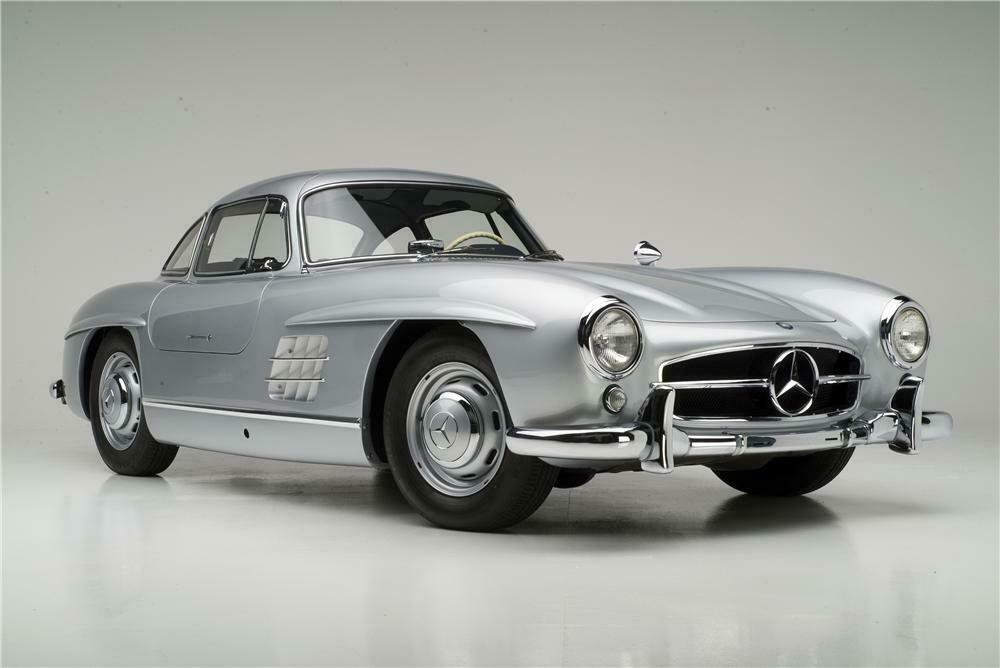 High Quality ... 1955 MERCEDES BENZ 300SL GULLWING COUPE   Front 3/4   161313 ...