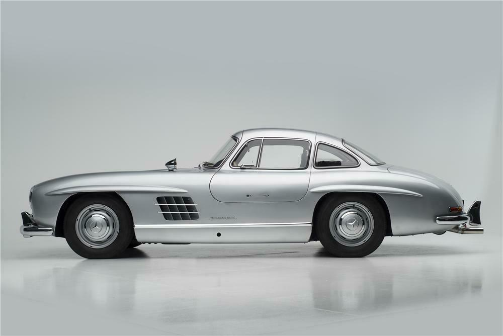 1955 MERCEDES BENZ 300SL GULLWING COUPE   Side Profile   161313 ...