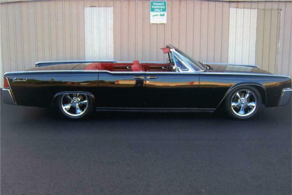 1961 Lincoln Continental Custom 4 Door Convertible