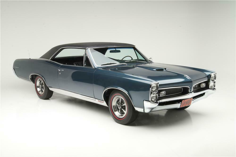 1967 PONTIAC GTO RAM AIR 2 DOOR HARDTOP