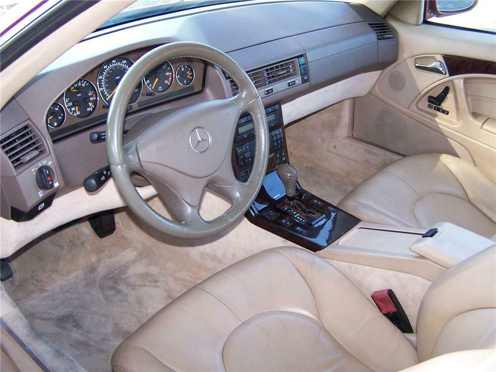 2000 mercedes benz sl500 convertible barrett jackson