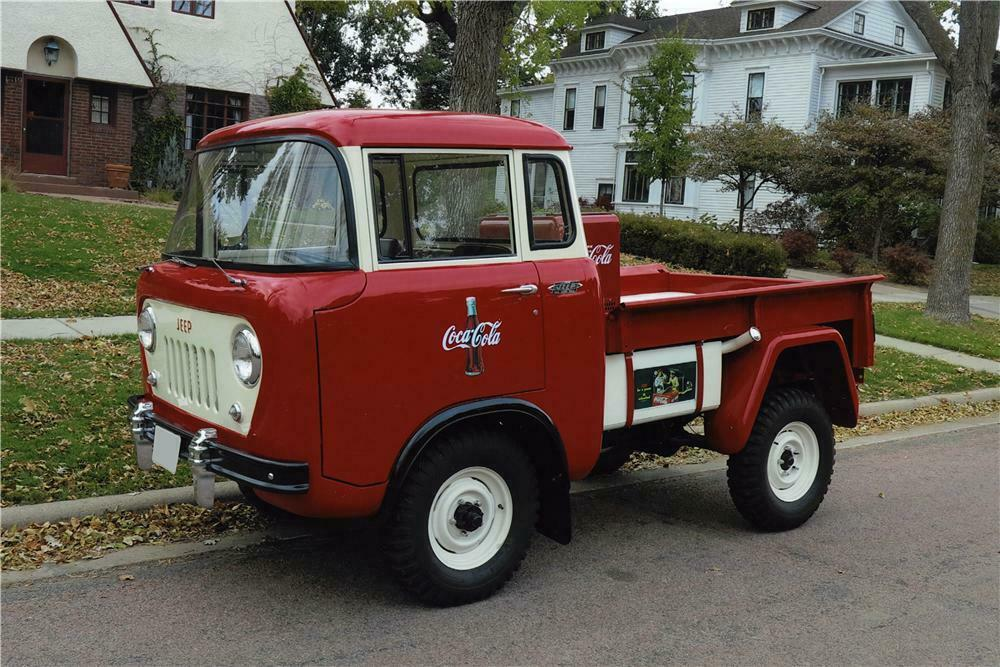 1957 WILLYS CAB OVER PICKUP