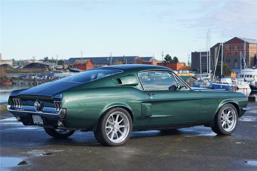 1967 FORD MUSTANG CUSTOM FASTBACK162686 Sold* at