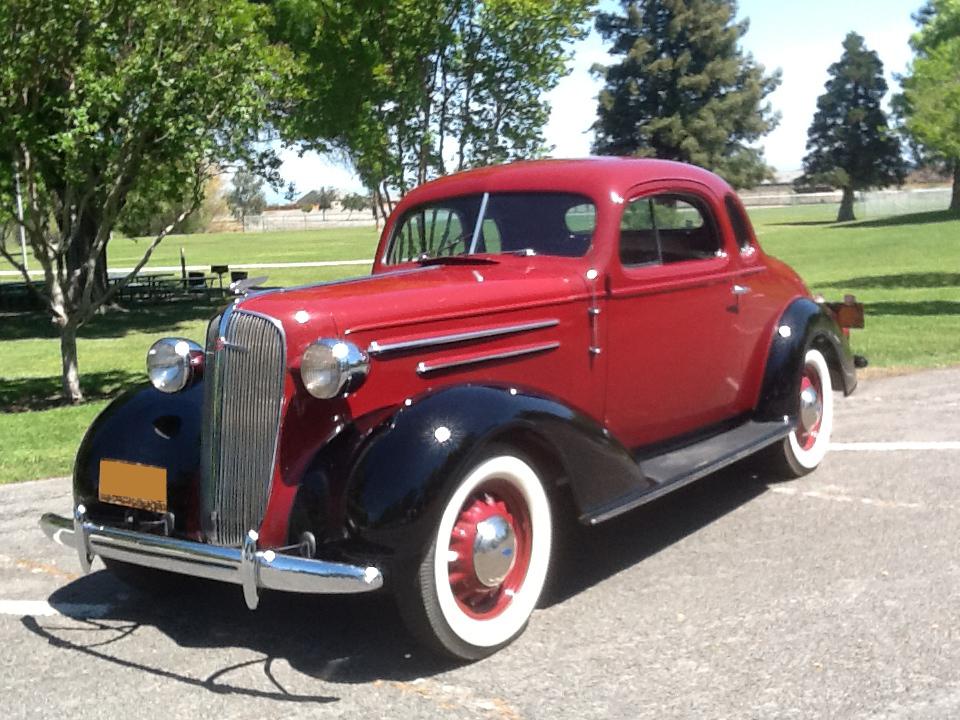1936 CHEVROLET MASTER DELUXE 2 DOOR COUPE