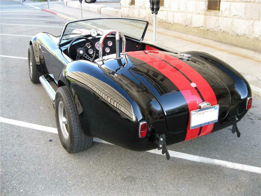 1966 SHELBY COBRA RE-CREATION ROADSTER