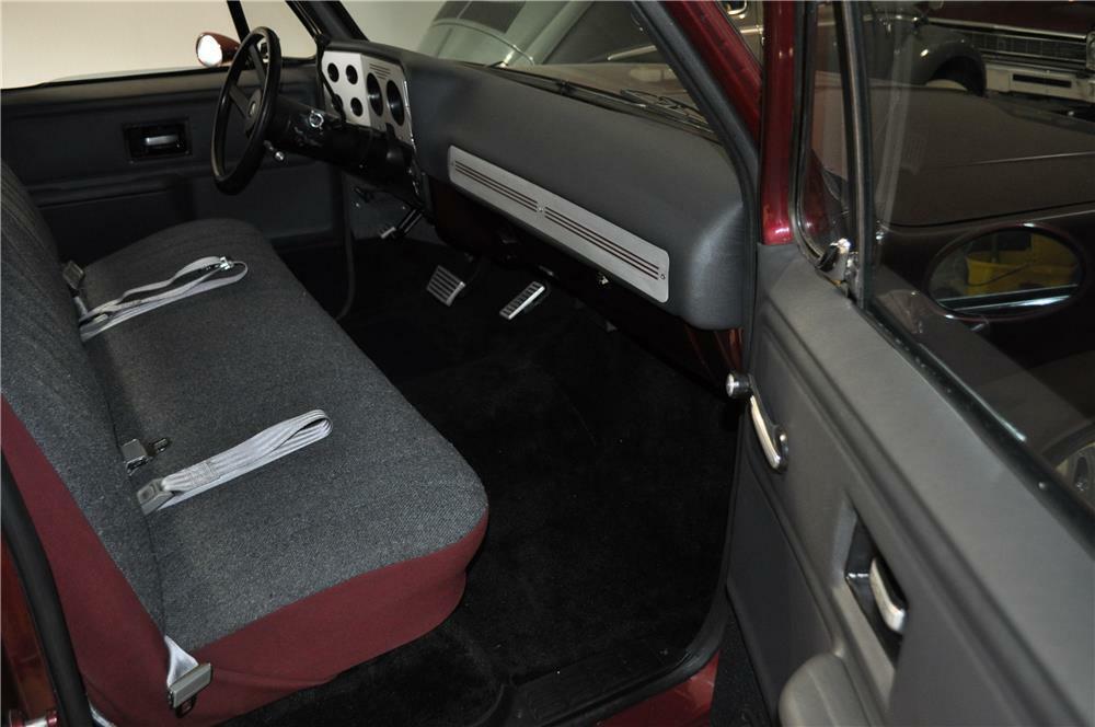 1978 chevy pickup interior