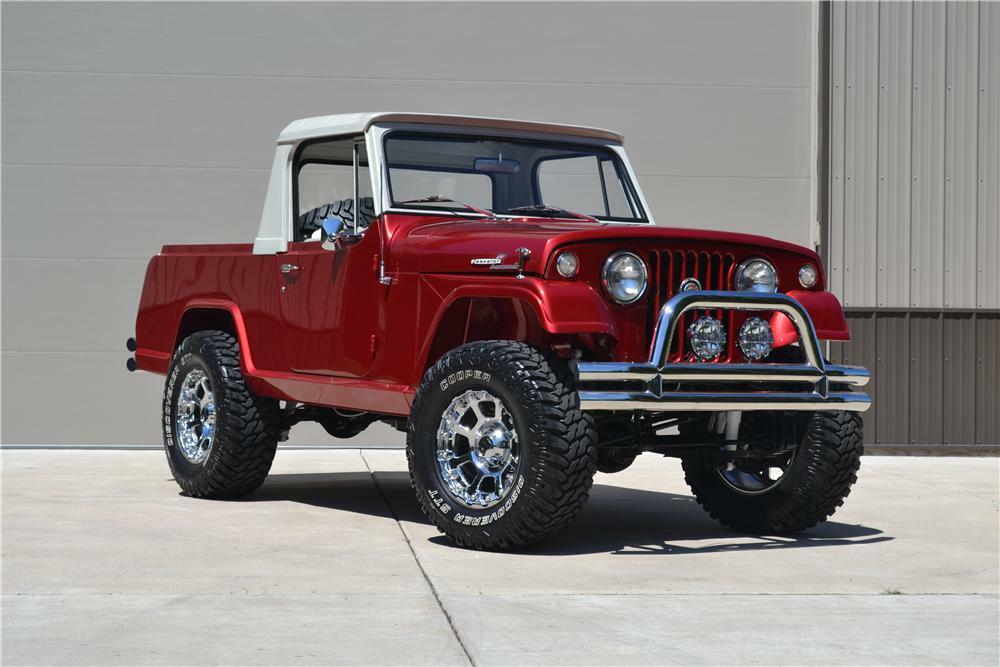 1969 jeep commando custom pickup