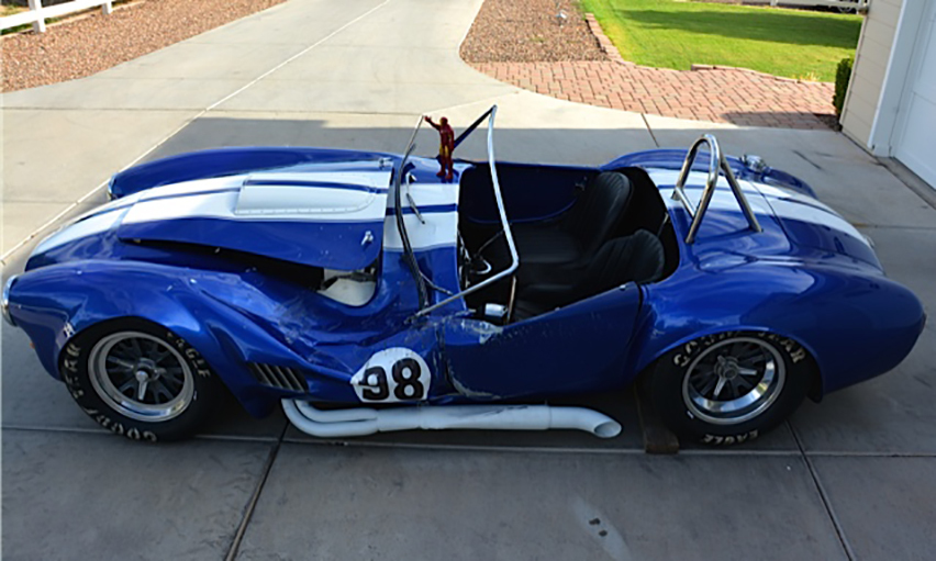 1965 SHELBY COBRA RE-CREATION ROLLING CHASSIS