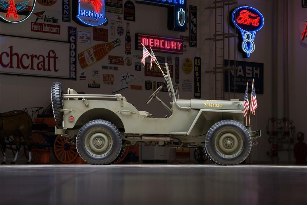 1942 FORD WORLD WAR II JEEP