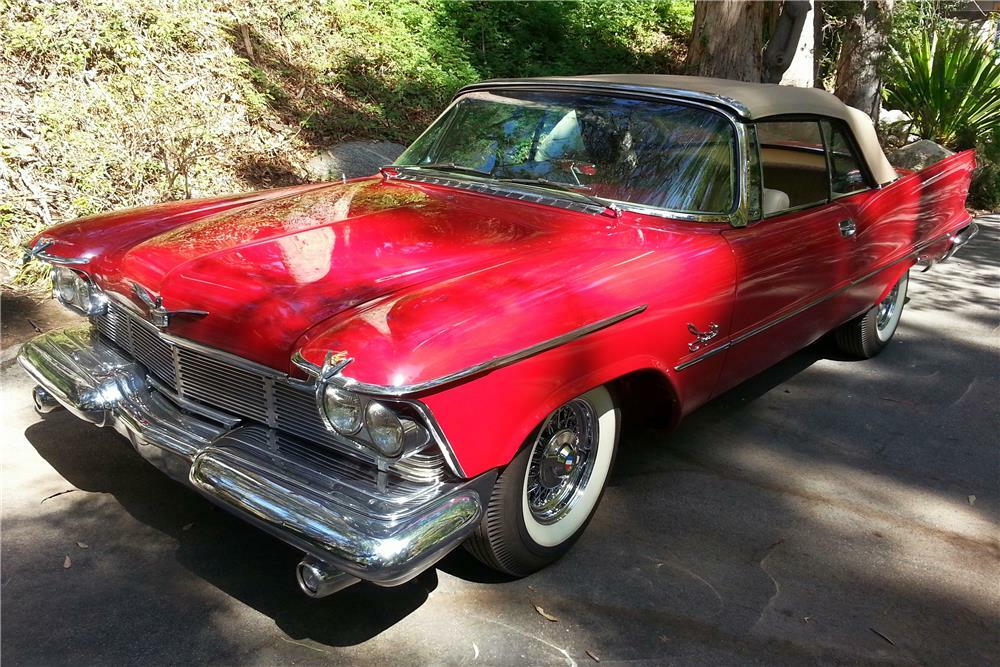1958 Chrysler Imperial Convertible Front 3 4 180673