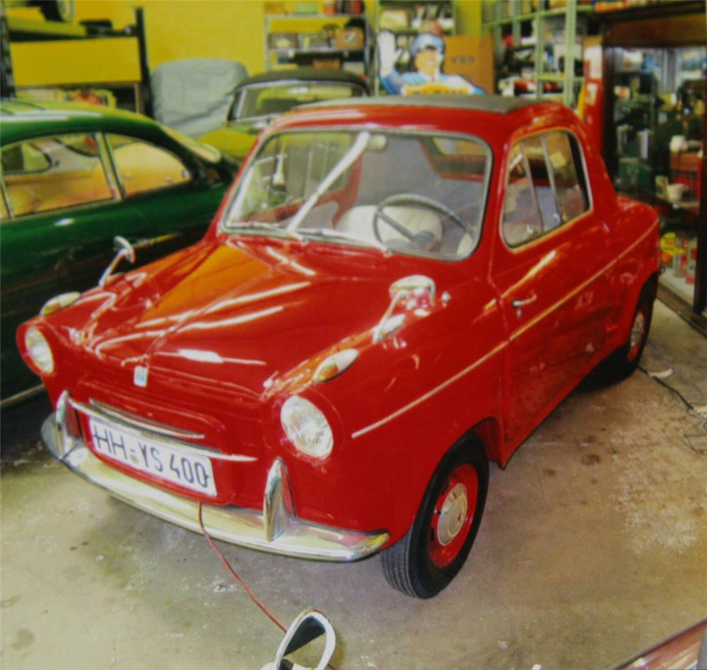 1961 VESPA 400 2 DOOR COUPE