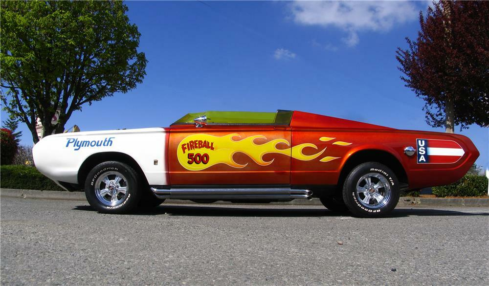 1965 PLYMOUTH BARRACUDA CUSTOM 'FIREBALL 500'