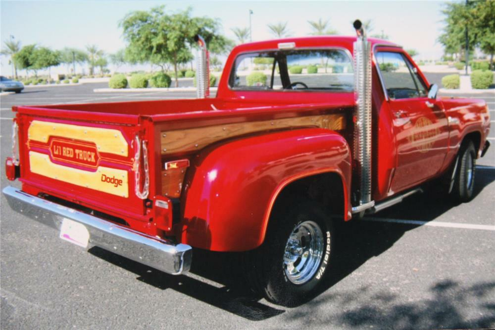 1978 Dodge Lil Red Express Pickup