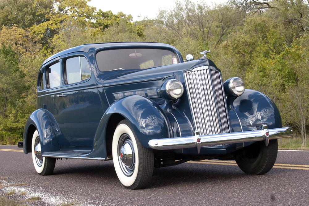 1937 PACKARD 115C 4 DOOR SEDAN -