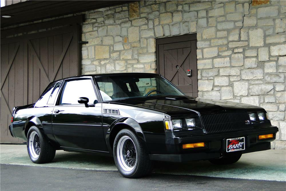 Buick Grand National Gnx For Sale >> 1987 Buick Grand National Gnx