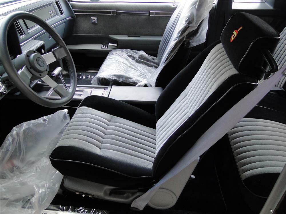 1987 BUICK GRAND NATIONAL GNX -