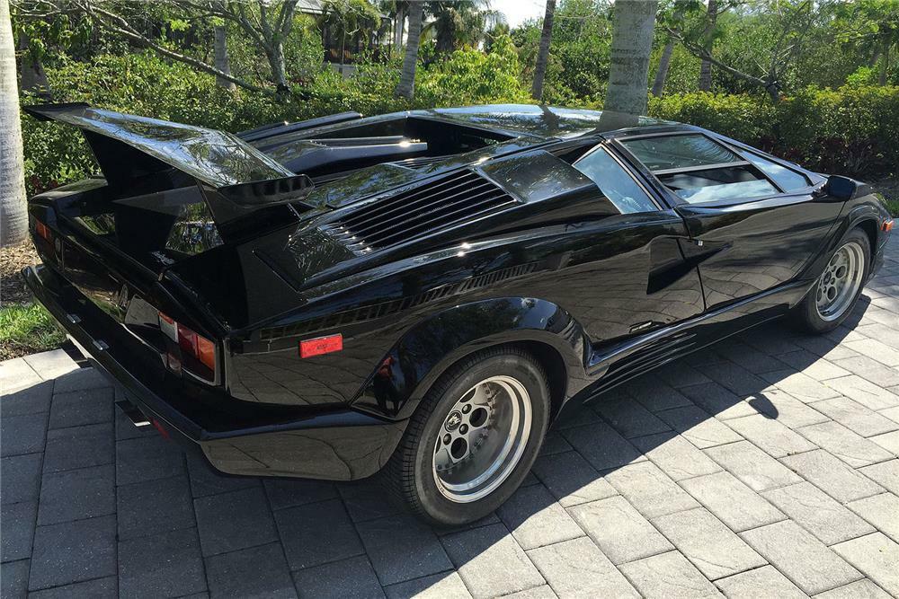 1989 Lamborghini Countach Anniversary Edition