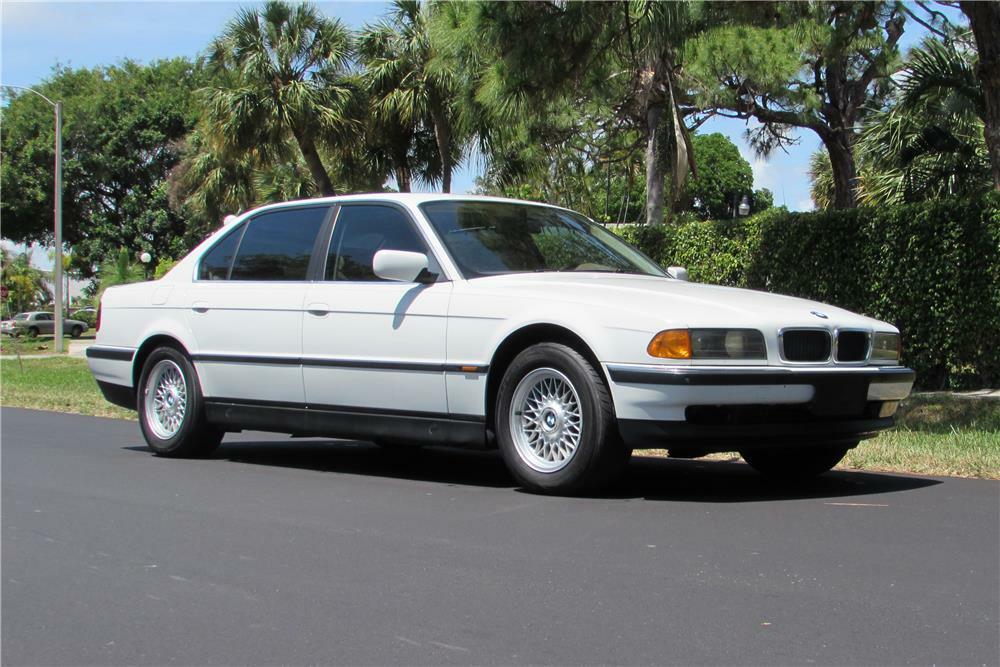 1996 Bmw 740il Sedan Front 3 4 184960