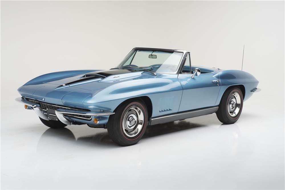 1967 Chevrolet Corvette 427 Convertible Front 3 4 185616