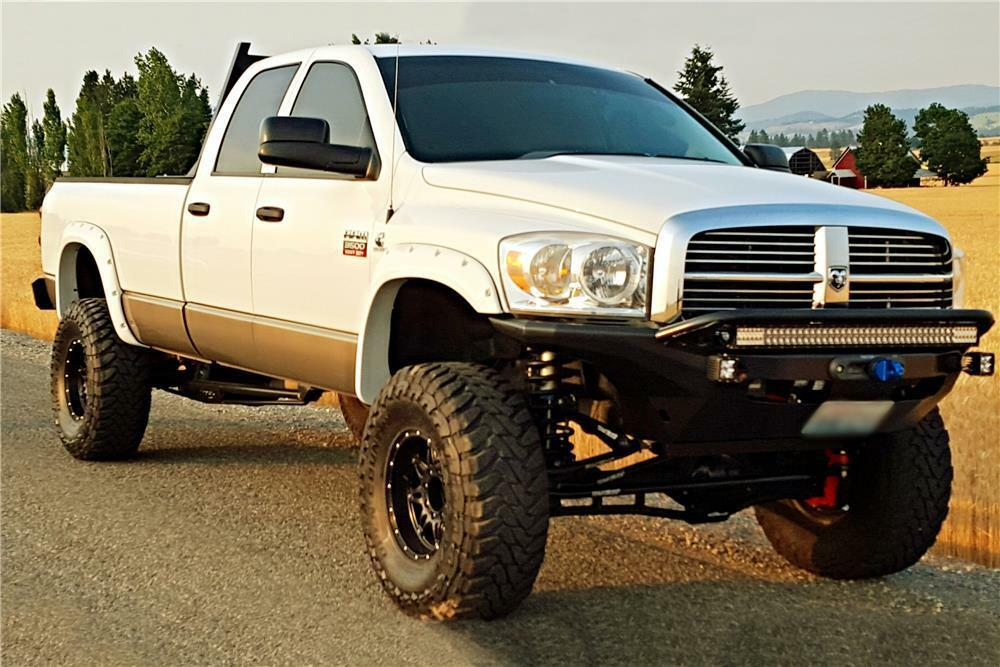 2008 dodge ram 3500 custom pickup. Black Bedroom Furniture Sets. Home Design Ideas