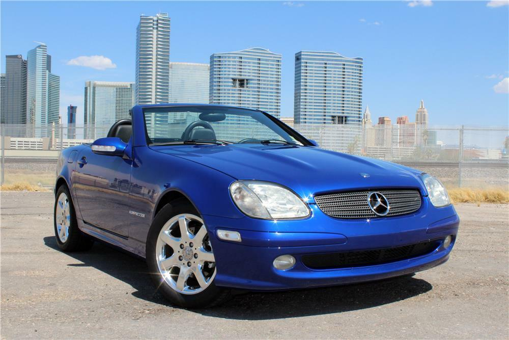 2002 Mercedes Benz Slk230 Convertible
