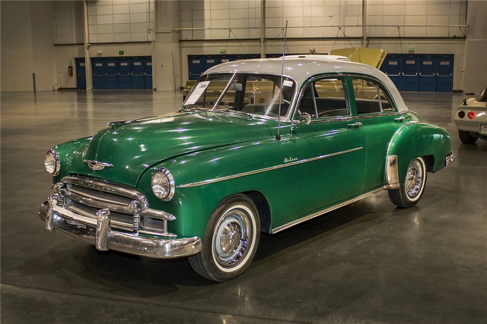 1950 Chevrolet Deluxe 4 Door Sedan