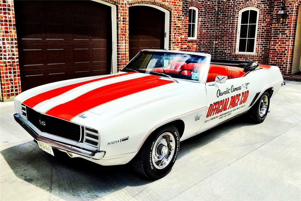 1969 chevrolet camaro rs/ss indy pace car convertible