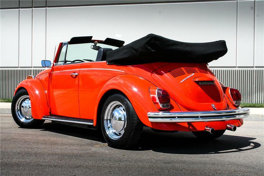 1971 Volkswagen Beetle Convertible Rear 3 4 187096