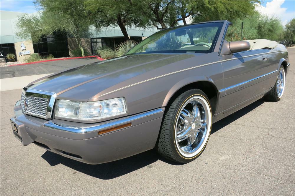 1995 Cadillac Eldorado Convertible Front 3 4 187402
