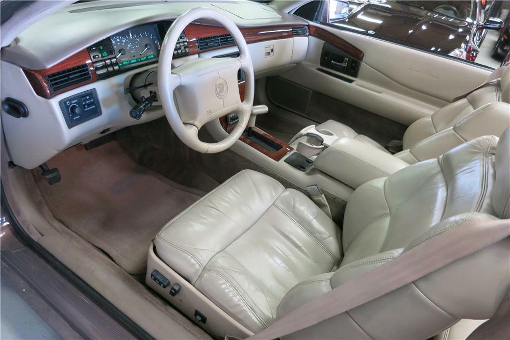 1995 Cadillac Eldorado Convertible Interior 187402