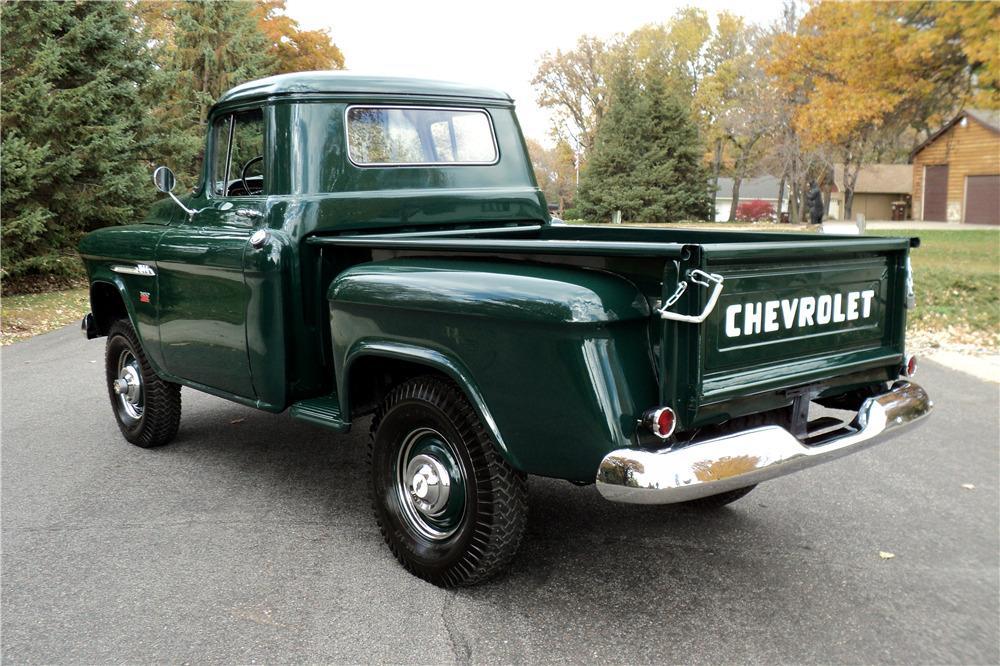 1955 CHEVROLET 3100 NAPCO 4X4 -