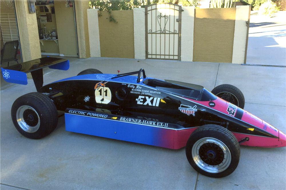 1985 Brawner Hawk Ex 11 Lola T900 Electric Indy Car Front 3