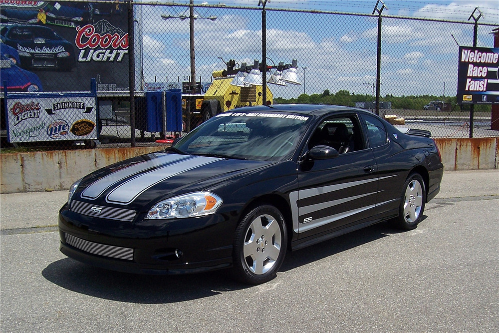2007 chevrolet monte carlo ss dale earnhardt edition 2007 Chevy Monte Carlo SS Options List