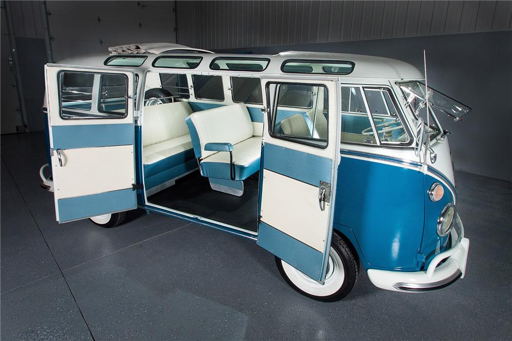 1966 Volkswagen 21 Window Microbus Interior 189963