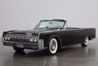 1964 Lincoln Continental 4 Door Convertible Front 3 190635