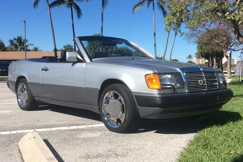 1993 Mercedes Benz 300ce Convertible Front 3 4 192536