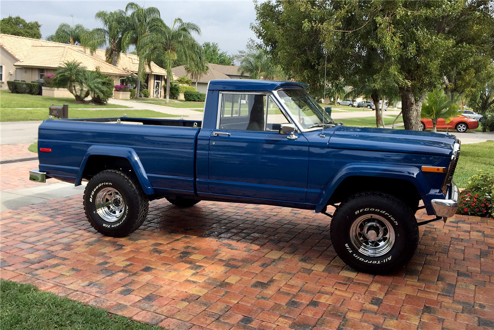 Jeep J10 Truck Bed