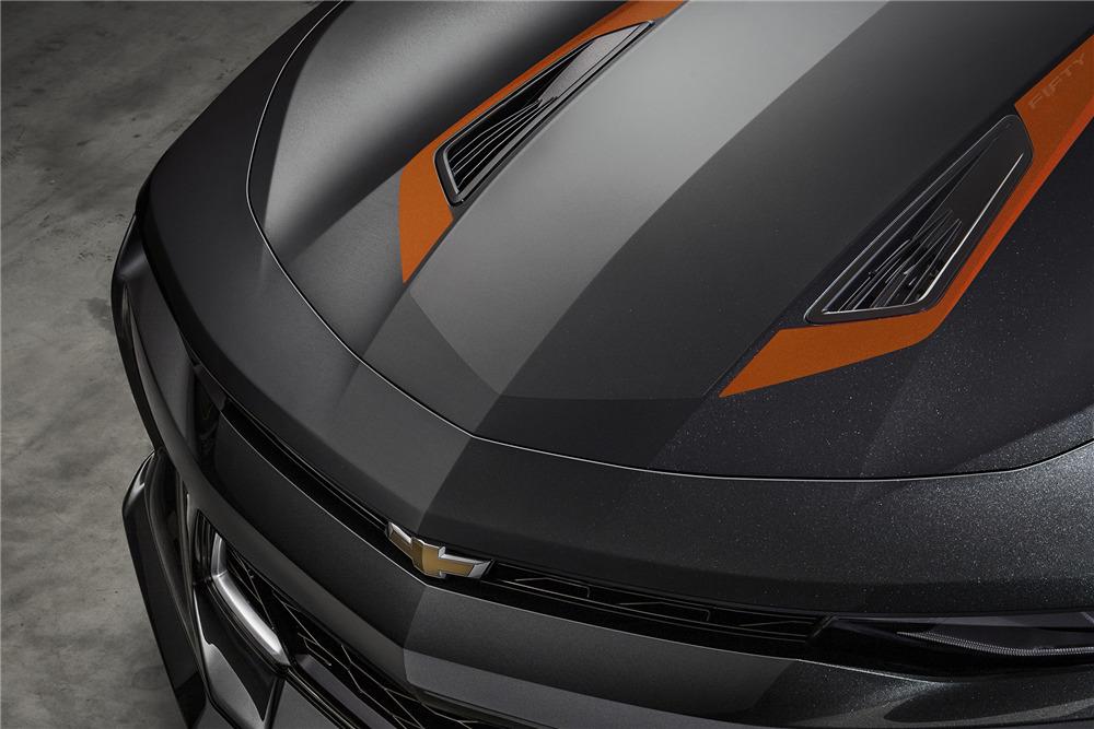 2017 Camaro 50th Anniversary >> 2017 Chevrolet Camaro Vin 001 50th Anniversary