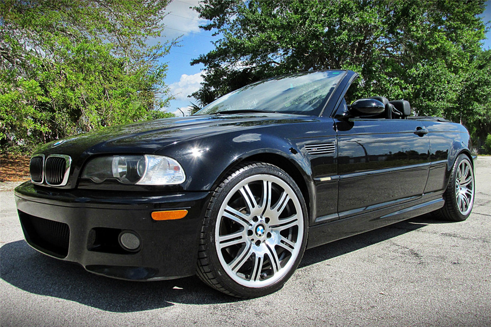 2005 Bmw M3 Convertible Front 3 4 195318