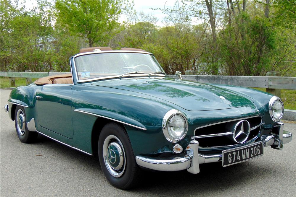 Mercedes Benz West Palm Beach >> 1961 MERCEDES-BENZ 190 SL ROADSTER