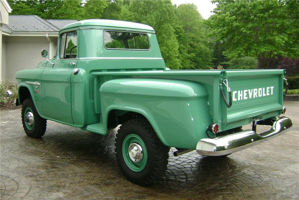 1955 CHEVROLET 5100 NAPCO 4X4 PICKUP