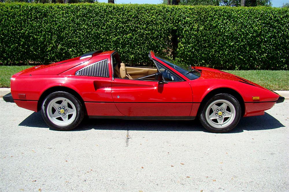 1985 Ferrari 308 Gts Qv Convertible Interior Website