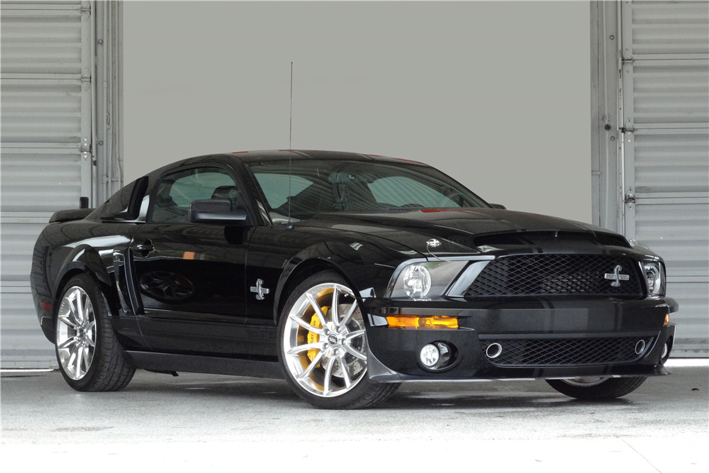 2008 Ford Mustang Shelby Gt500 Super Snake Front 3 4 196390
