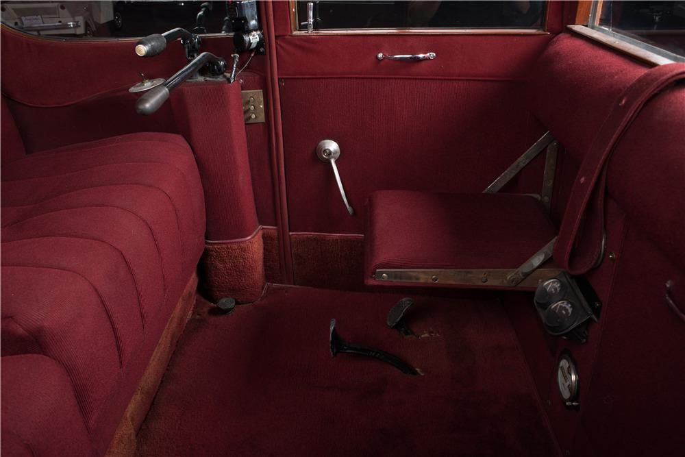 1918 Milburn Electric Car Interior 197198