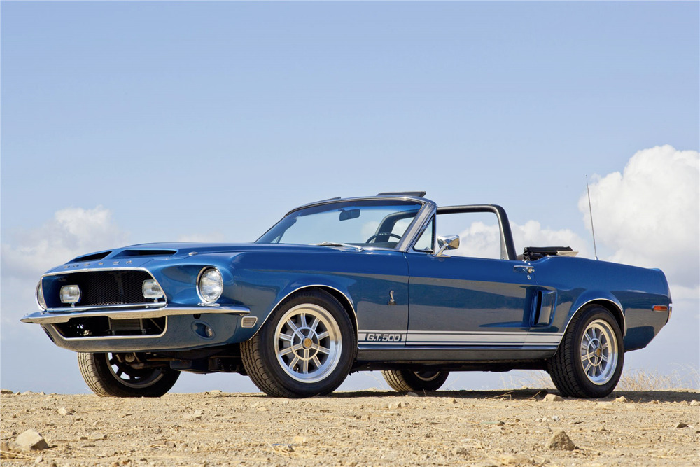 68 Shelby Gt500 >> 1968 Shelby Gt500 Convertible
