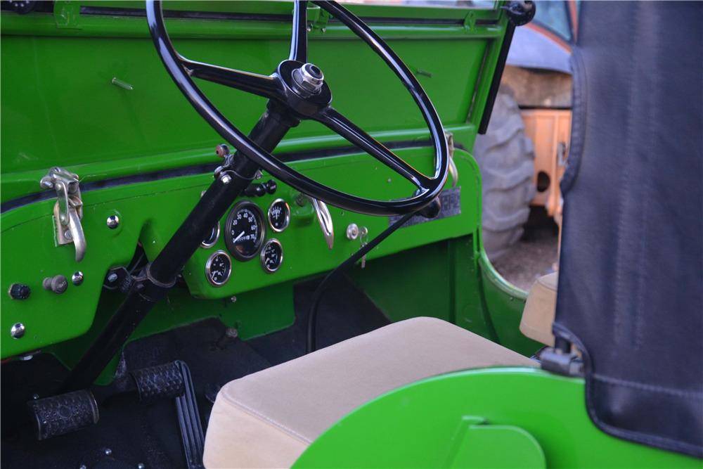 1947 WILLYS JEEP CJ2A -