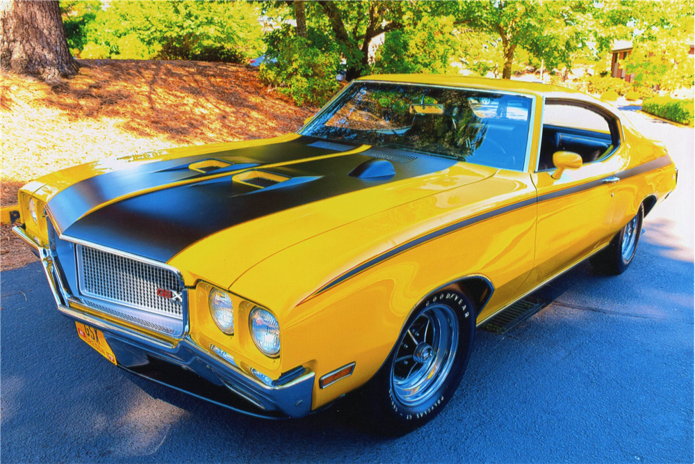 1970 BUICK GSX 455 STAGE 1