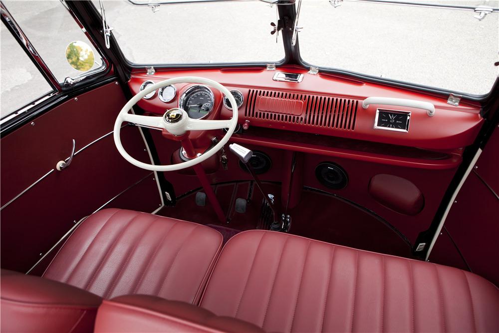 1965 VOLKSWAGEN TYPE II 21-WINDOW DELUXE BUS -